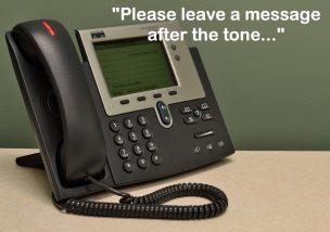 メッセージ 留守番 電話