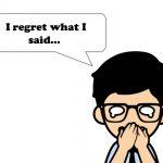 「後悔」の気持ちを英語で伝える表現とイディオム58選