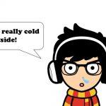 冬に使える英語の「寒い!」と寒さ関連のイディオム46選
